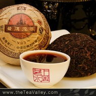 2009 Menghai Dayi V93 Pu'erh Tuocha from Tea Valley