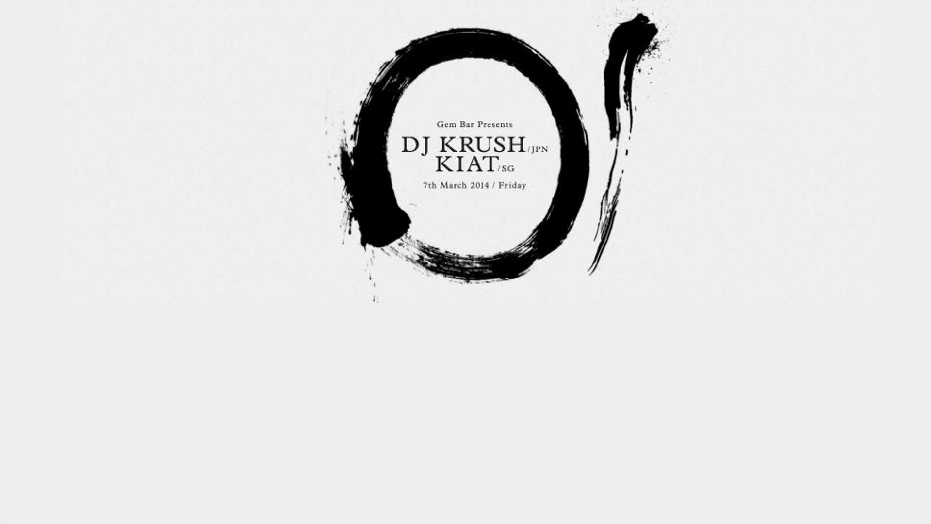 DJ Krush Live In Singapore