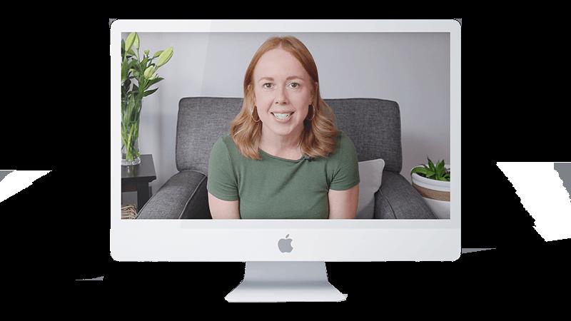 Stephanie Kay in an online webinar