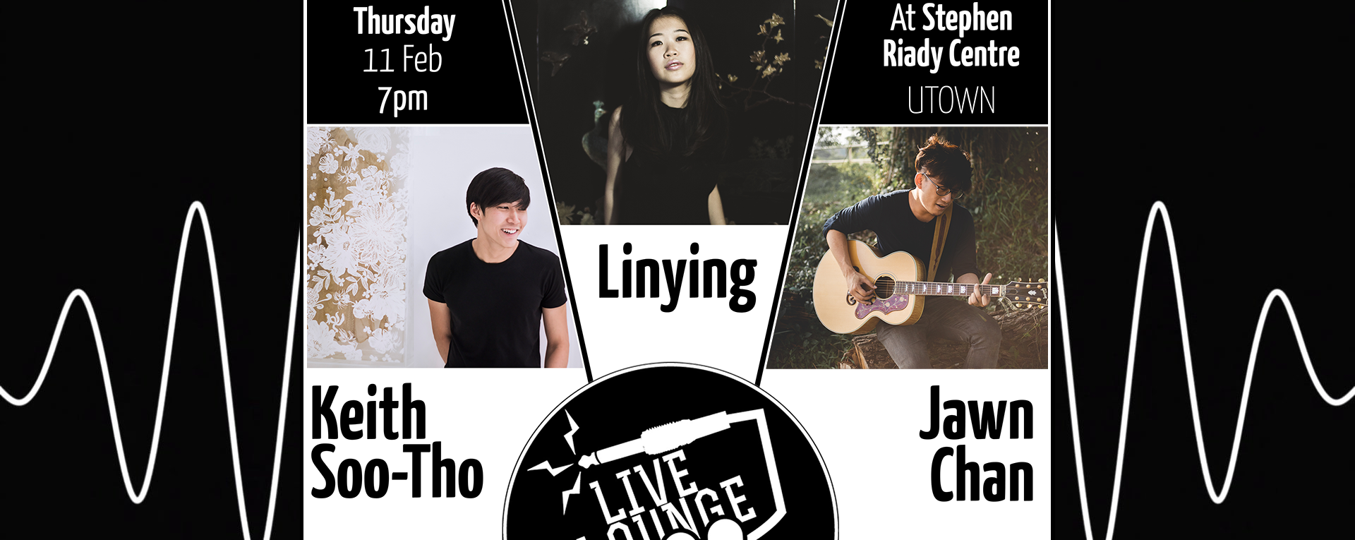Live Lounge: Linying, Keith Soo-Tho, JAWN by NUS RadioPulze