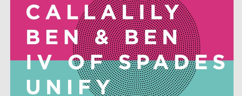 Callalily, Ben&Ben, IV of Spades and Unify