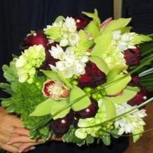 Mariage - Bouquet de mariée chic - $200