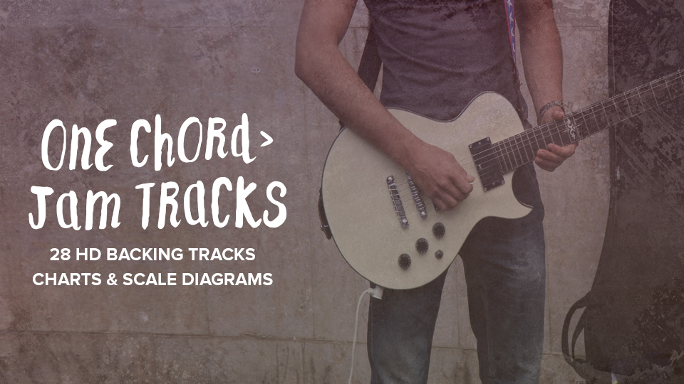 One Chord Jam Tracks Guitar Playback
