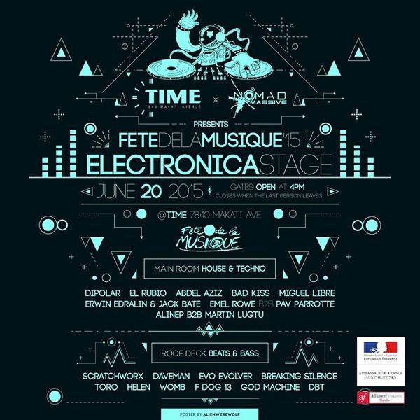 Fete dela Musique: Electronica Stage