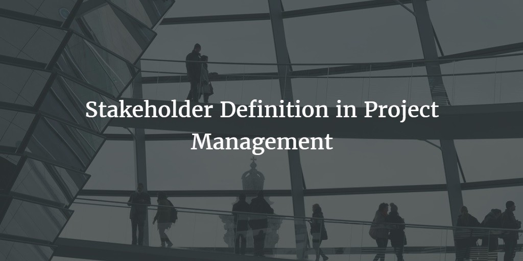 Stakeholder definition