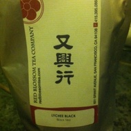 Lychee Black from Red Blossom Tea Company