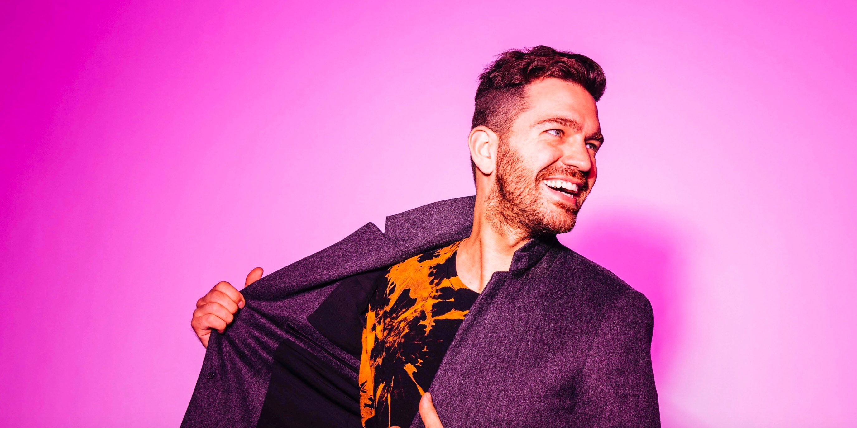 American pop artist Andy Grammer is coming to Manila