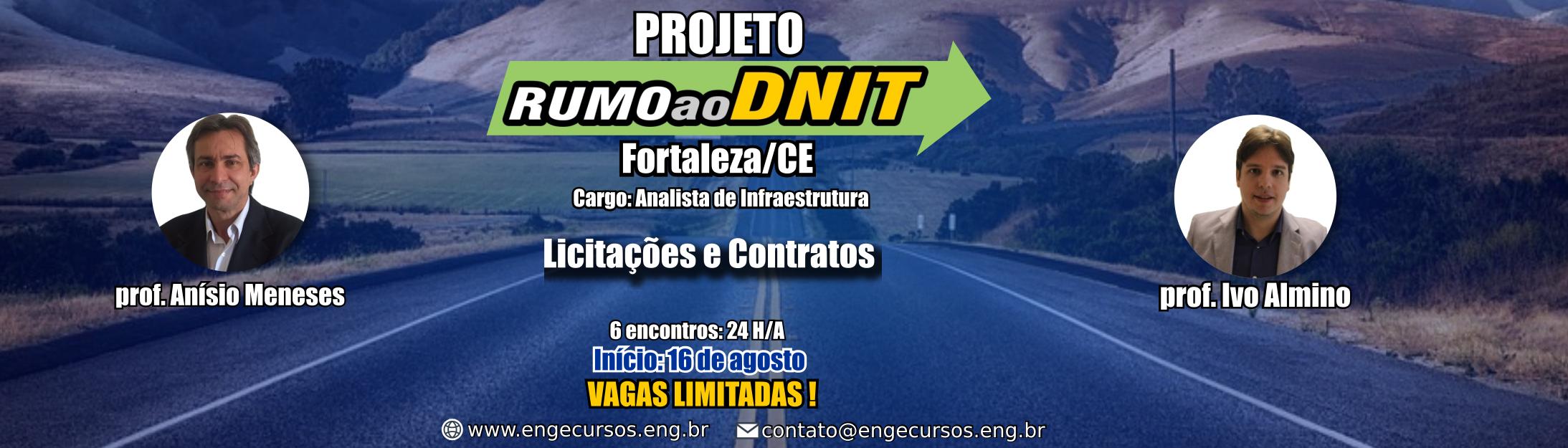 Concurso - Engenharia Civil - DNIT - Fortaleza