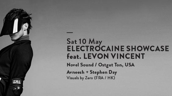 ELECTROCAINE SHOWCASE feat. LEVON VINCENT (USA)