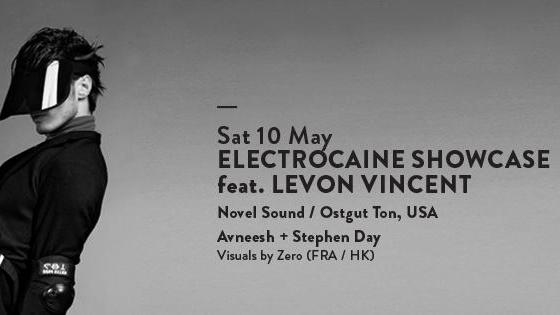 ELECTROCAINE SHOWCASE feat. LEVON VINCENT (USA)