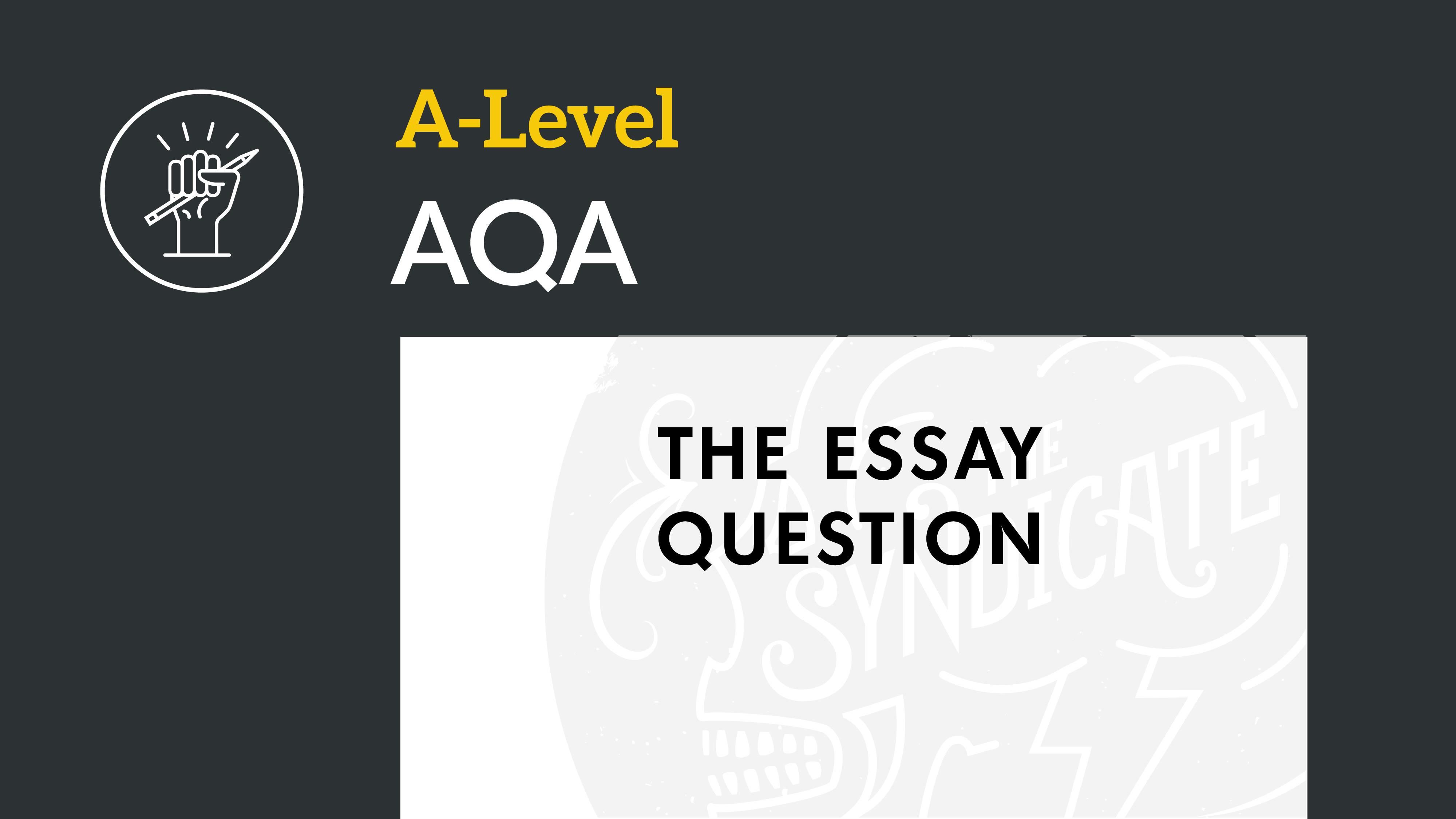 Aqa biology essay titles