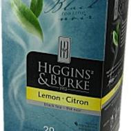 Lemon Black tea from Higgins & Burke