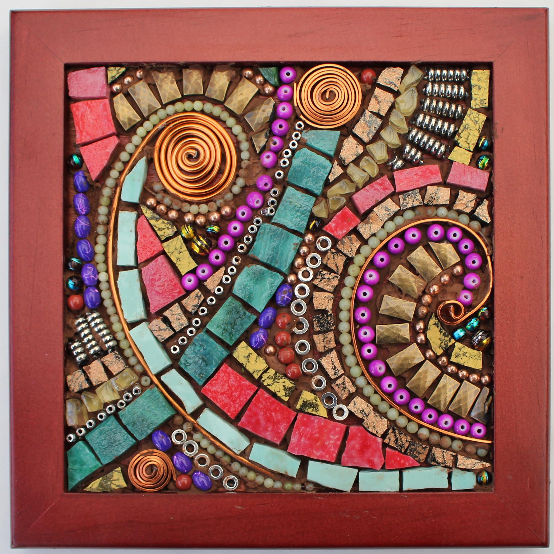 Organic Abstract Mosaic With David Jarvinen