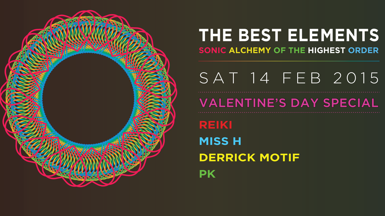 The Best Elements - Valentine's Day Special feat. DJ Reiki