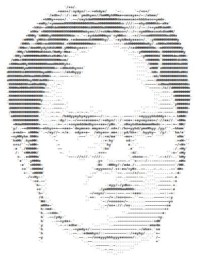 Dwight Schrute ASCII