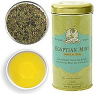 Egyptian Mint Green Tea from Zhena's Gypsy Tea