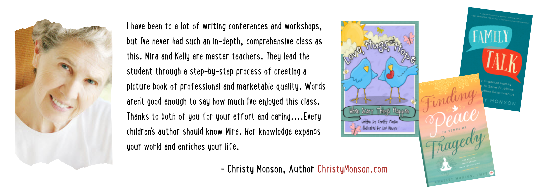 Children's Book Academy Graduate Testimonials