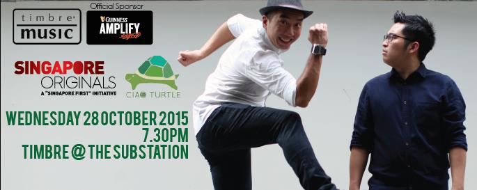 Timbre Music X Guinness Amplify Present Singapore Originals : Ciao Turtle