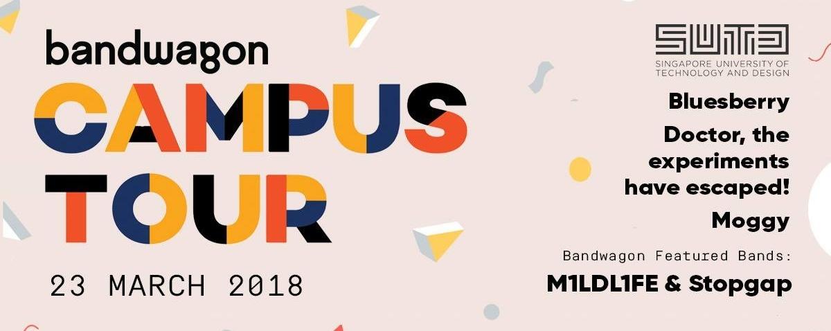 Bandwagon Campus Tour 2018
