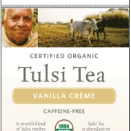 Tulsi Vanilla Crème from Organic India