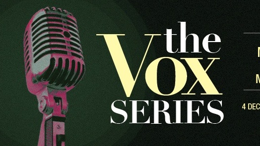 THE VOX SERIES featuring MELISSA THAM