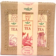 3-in-1 - Darjeeling, Assam & Nilgiri Teas - Jute Box by Golden Tips Tea from Golden Tips Teas