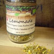 Lemonade from jar of tea