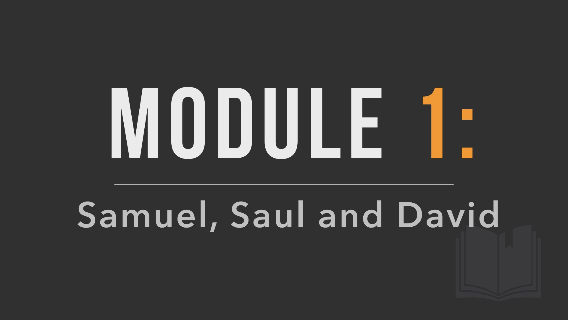 Module 1 Poster Image