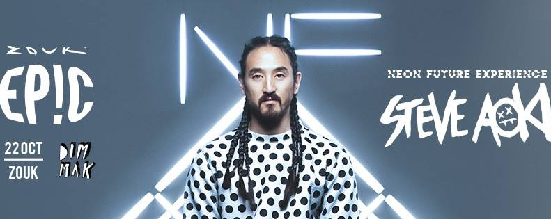 NEON FUTURE EXPERIENCE WITH STEVE AOKI