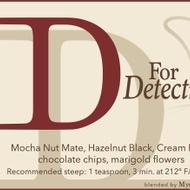 D for Detective (Sherlock) from Adagio Teas Custom Blends
