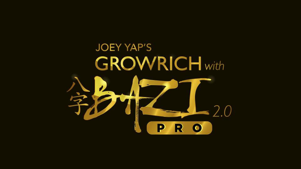 Joey Yap's Grow Rich with Bazi 2 0 (Pro)   JY Academy