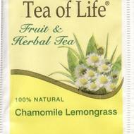 Chamomile Lemongrass from Tea of Life