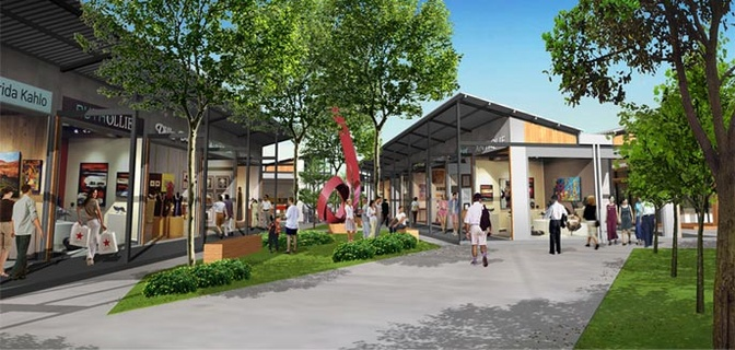 Rally saint louis idea outdoor retail incubator project for Exterior standalone retail