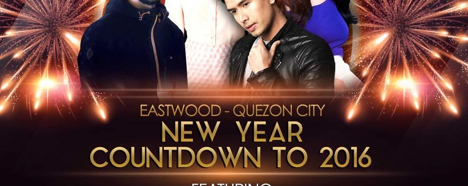 Eastwood New Year Countdown to 2016