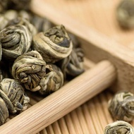 Jasmine Dragon Pearls Long Zhu Green Tea from Teavivre