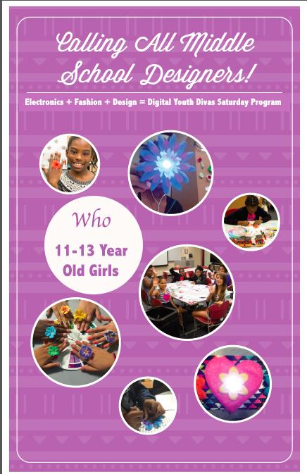 Digital Youth Divas Saturday Program