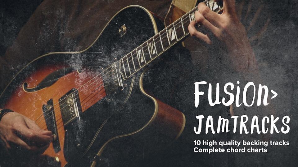 Fusion Jam Tracks Guitar Playback