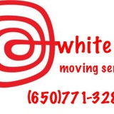white & red moving service image