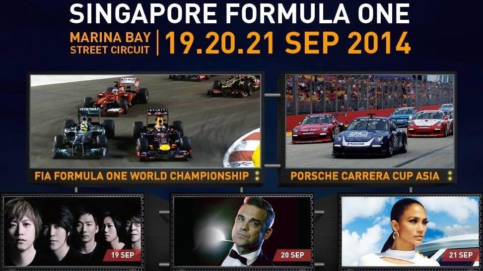 Singapore Formula One 2014