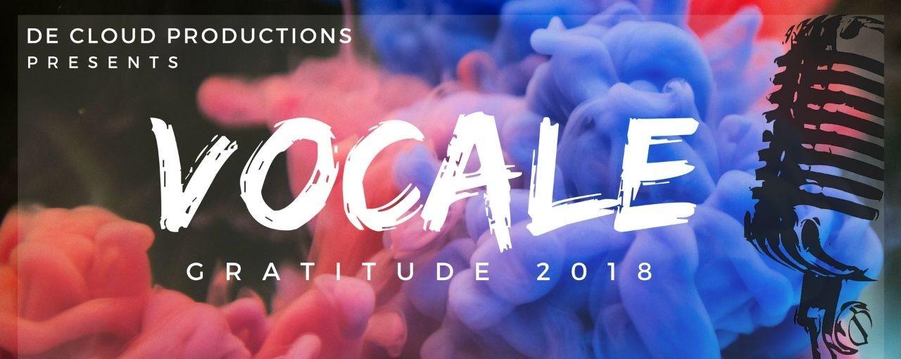 Vocale: Gratitude 2018