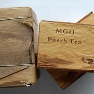2011 MGH 1109 Mangfei Green Pu-erh Tea Brick 250g from PuerhShop.com