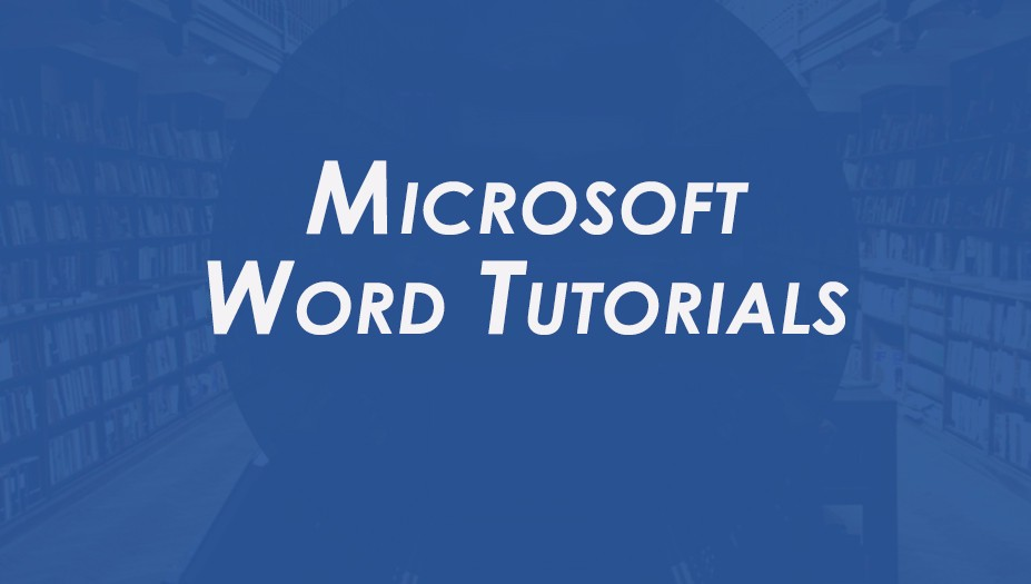 Microsoft Word Tutorial included in Office training bundle