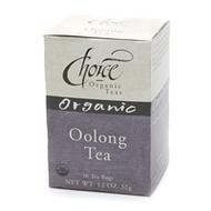Oolong Organic Tea from Choice Organic Teas