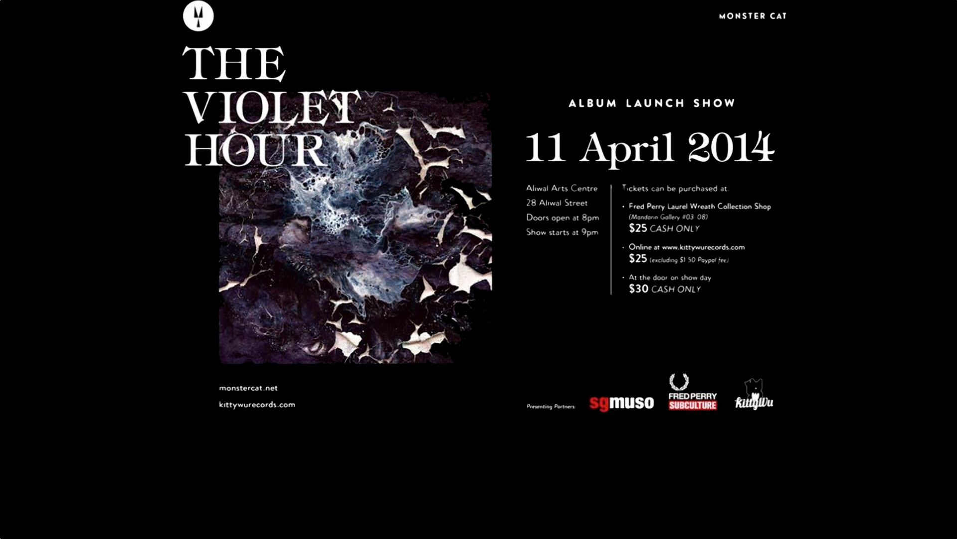 THE VIOLET HOUR Launch Show