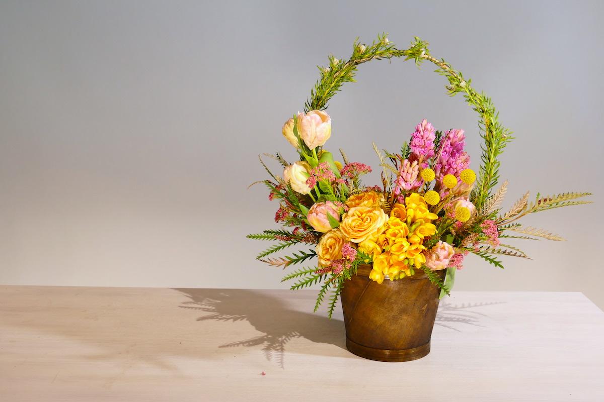 Flower Fridays: Spring Basket