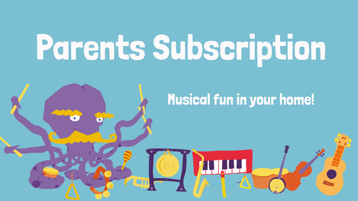 DabbledooMusic Parents' Subscription