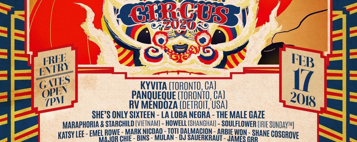 CIRCUS2020 x Fringe MNL