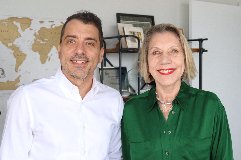 Martha Alles y Javier Burdman