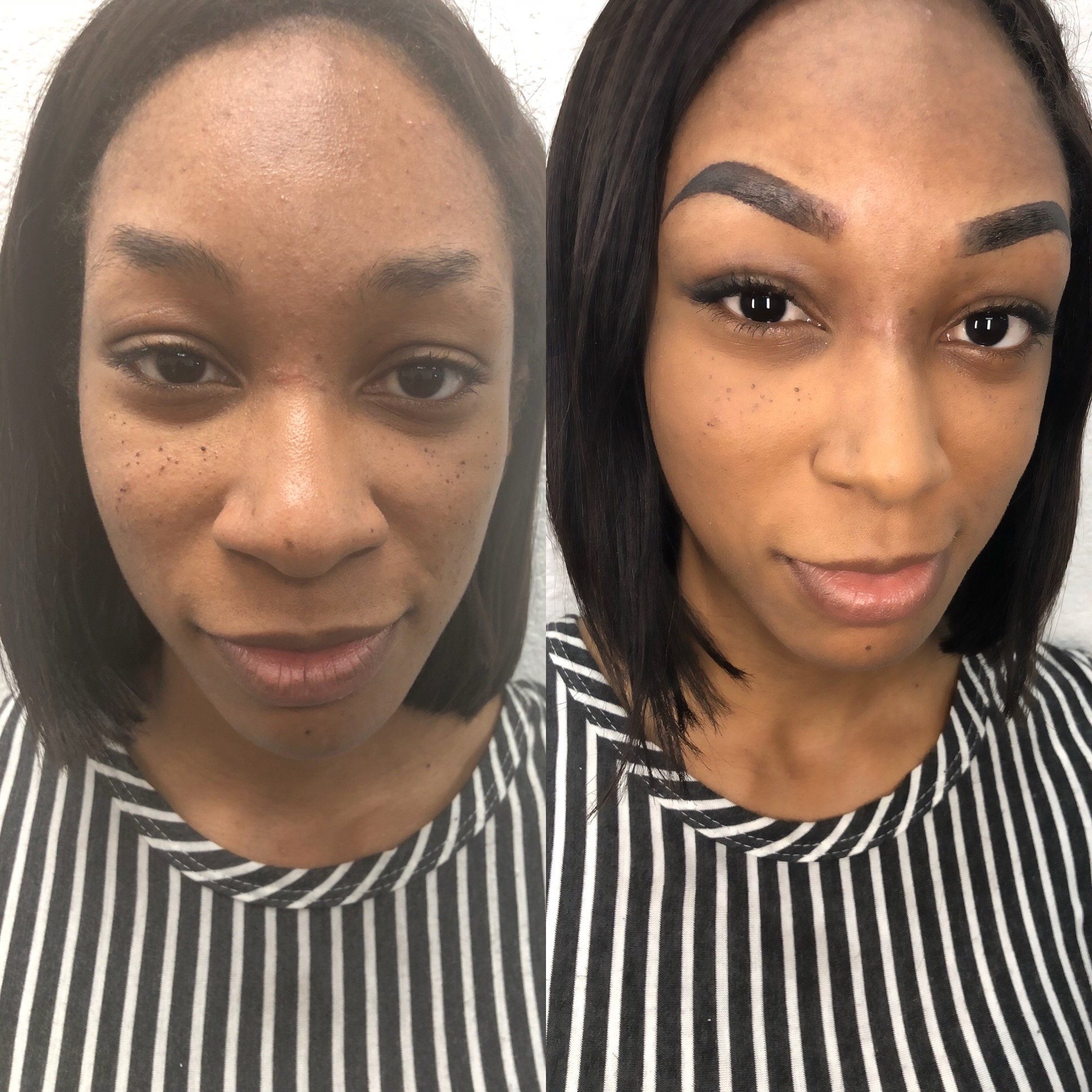andrea at the microblading institute