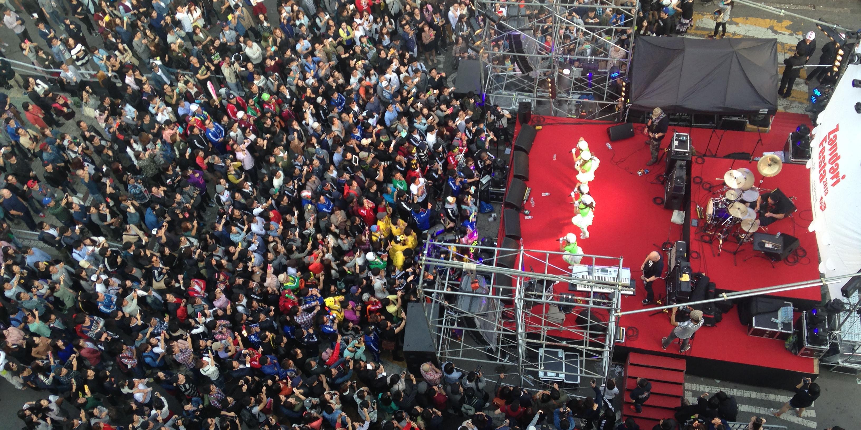 Singaporean acts take to South Korea to perform at Zandari Festa 2017